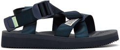Navy Chin2-CAD Sandals
