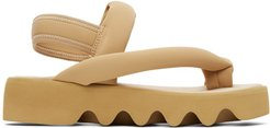 Brown United Nude Edition Bounce Sandals