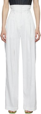 White Double Trousers
