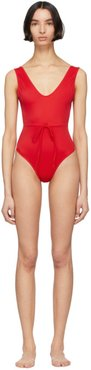 Red The Michelle One-Piece Swimsuit