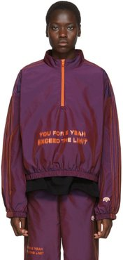 Purple You For E Yeah Exceed The Limit Track Pullover