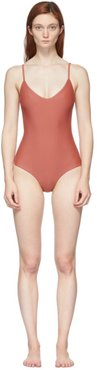 Pink The Scoop One-Piece Swimsuit