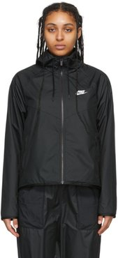 Black Sportswear Windrunner jacket