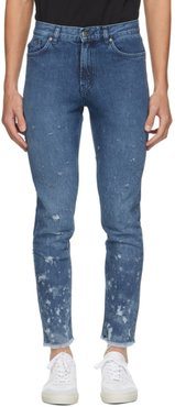 Blue Slim Tapered Fit Jeans