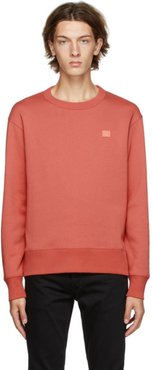 Red Fairview Patch Sweatshirt