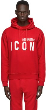 Red Icon Hoodie
