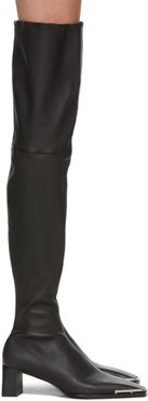 Black Over-The-Knee Mascha Tall Boots