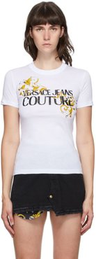 White Baroque Accent T-Shirt