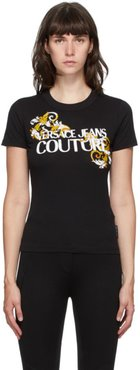Black Baroque Accent T-Shirt