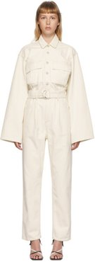 Off-White Denim Tatum Jumpsuit