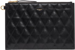 Black Quilted Medium GV3 Pouch