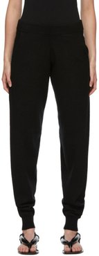 Black Cashmere Hotoveli Lounge Pants