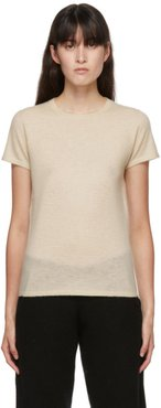 Off-White Cashmere Perfect T-Shirt