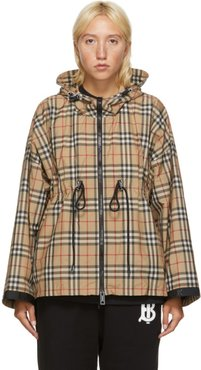Beige Backton Check Jacket