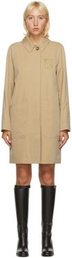 Beige Sansend Trench Coat