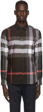 Grey Check Somerton Shirt