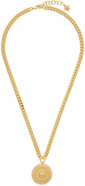 Gold Cuban Link Medusa Necklace