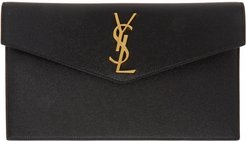 Black Uptown Envelope Pouch