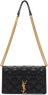 Black Becky Chain Wallet Bag