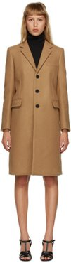Tan Cashmere Chesterfield Coat