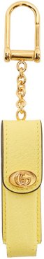 Yellow Single Porte-Rouges Keychain