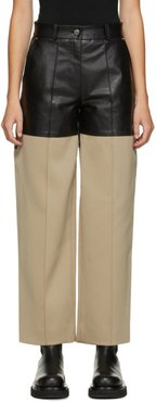 Black and Beige Fireman Trousers