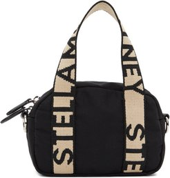 Black ECONYL® Small Boston Bag