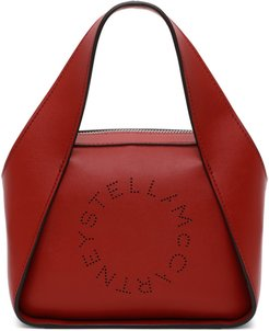 Red Small Logo Tote