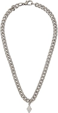 Silver Cross Chain Necklace