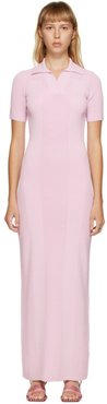 Pink La Robe Maille Polo Dress