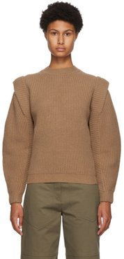 Brown Cashmere and Wool Bolton Sweater