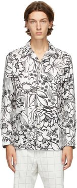 White Joshua Vides Edition Silk Shirt