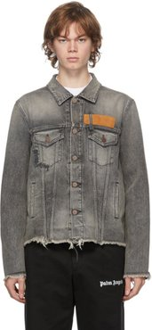 Grey Venice Denim Jacket