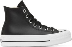 Black Chuck Lift High Sneakers