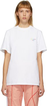 SSENSE Exclusive White The Intelligent Choice T-Shirt
