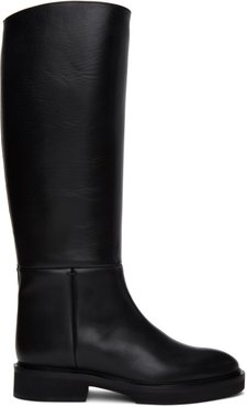 Black The Derby Boots