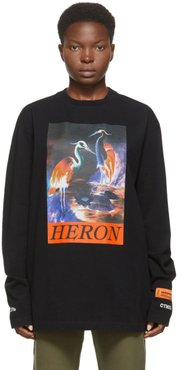 Black Heron Times Long Sleeve T-Shirt