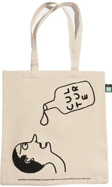 David Shrigley Creative Health Tote Bag Culture