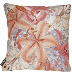 The Lily Bouquet Cushion - Beige