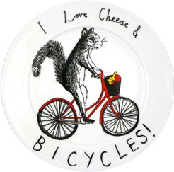Cheese & Bicycles Plate