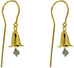 Bluebell Drop Earrings With Iolite