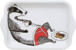 Badger In Pants Small Tea Tray