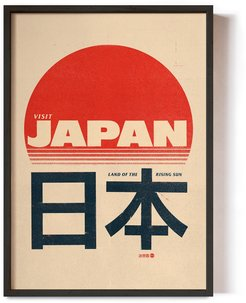 Japan Land Of The Rising Sun Poster