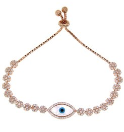 Rose Mother of Pearl Evil Eye