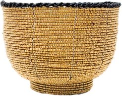 Beaded Bali Bowl - Gold