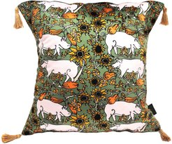 The Country Pig Cushion