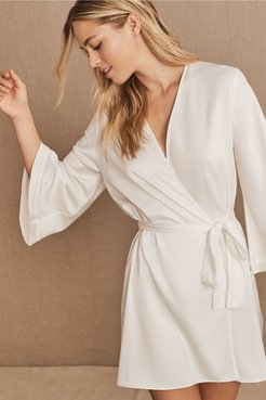 BHLDN's Rya Collection Heavenly Robe in Ivory