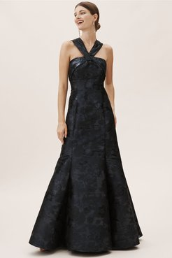 BHLDN's Aidan Mattox Aidan Mattox Brook Dress in Navy
