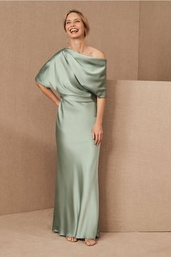 Pryce Dress In Jade - Size: 0 - at BHLDN