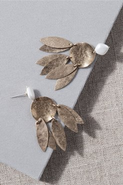 Furler Earrings In Gold - Size: One Size - at BHLDN